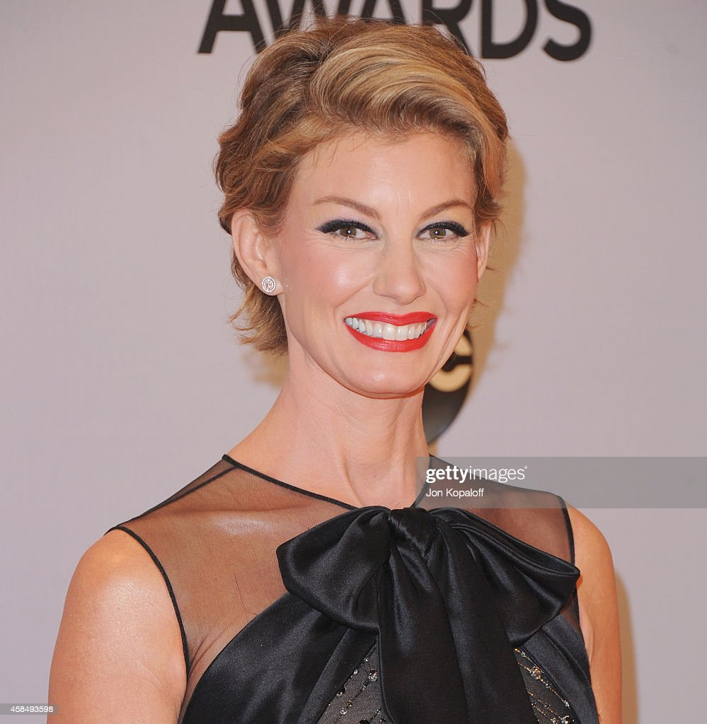 Singer Faith Hill attends the 48th annual CMA Awards at the Bridgestone Arena on November 5 2014 in Nashville Tennessee