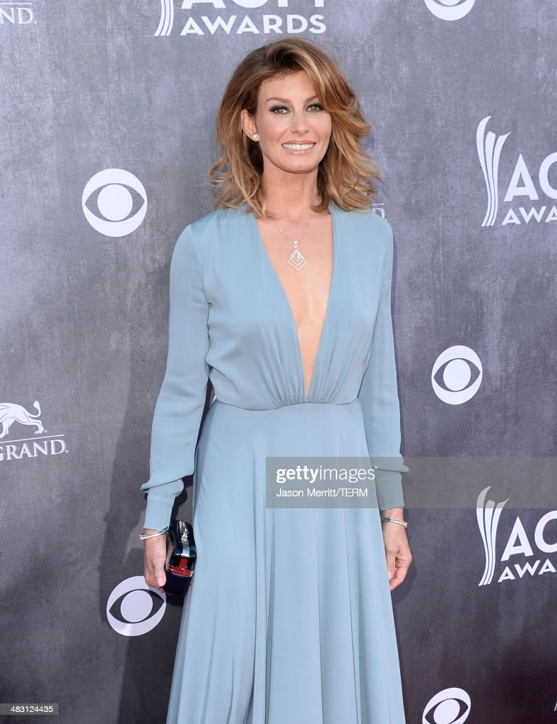 Singer <a gi-track='captionPersonalityLinkClicked' href=/galleries/search?phrase=Faith+Hill&family=editorial&specificpeople=175933 ng-click='$event.stopPropagation()'>Faith Hill</a> attends the 49th Annual Academy Of Country Music Awards at the MGM Grand Garden Arena on April 6, 2014 in Las Vegas, Nevada.