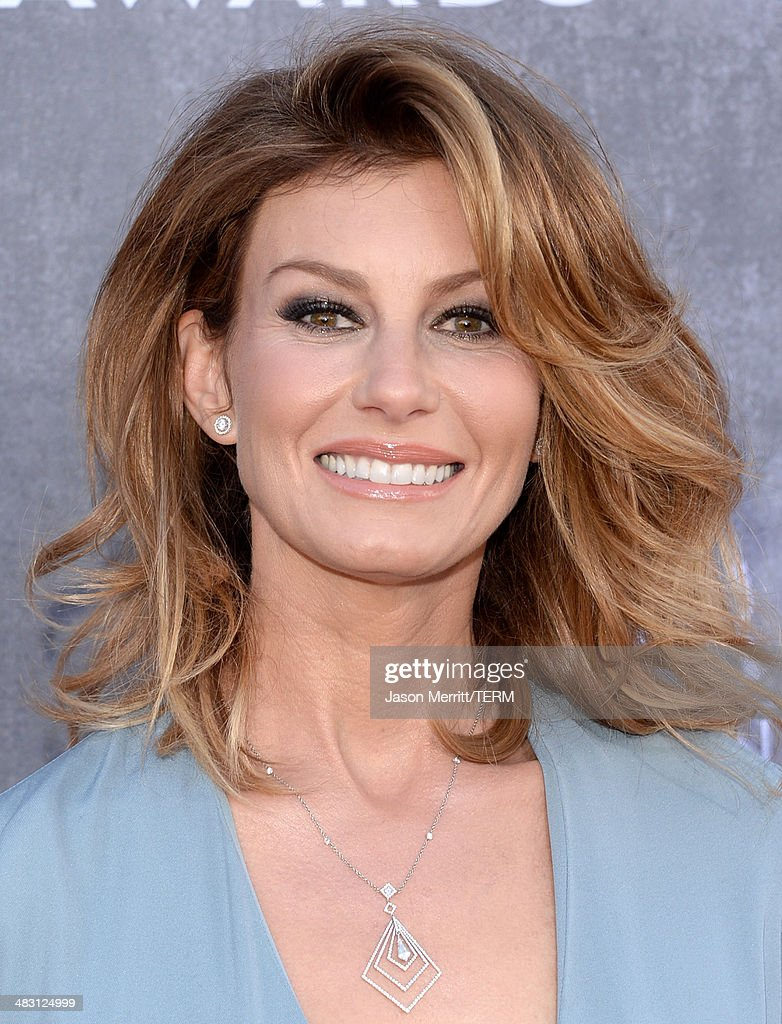 Singer Faith Hill attends the 49th Annual Academy Of Country Music Awards at the MGM Grand Garden Arena on April 6, 2014 in Las Vegas, Nevada.