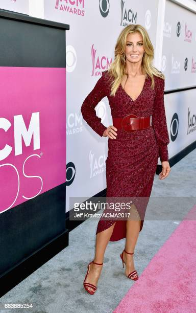 Singer Faith Hill attends the 52nd Academy Of Country Music Awards at TMobile Arena on April 2 2017 in Las Vegas Nevada