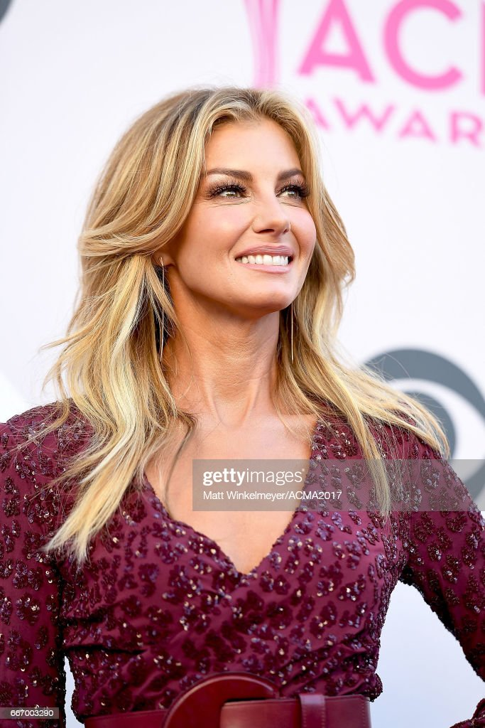 Singer Faith Hill attends the 52nd Academy Of Country Music Awards at T-Mobile Arena on April 2, 2017 in Las Vegas, Nevada.