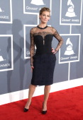 Singer Faith Hill attends the 55th Annual GRAMMY Awards at STAPLES Center on February 10 2013 in Los Angeles California