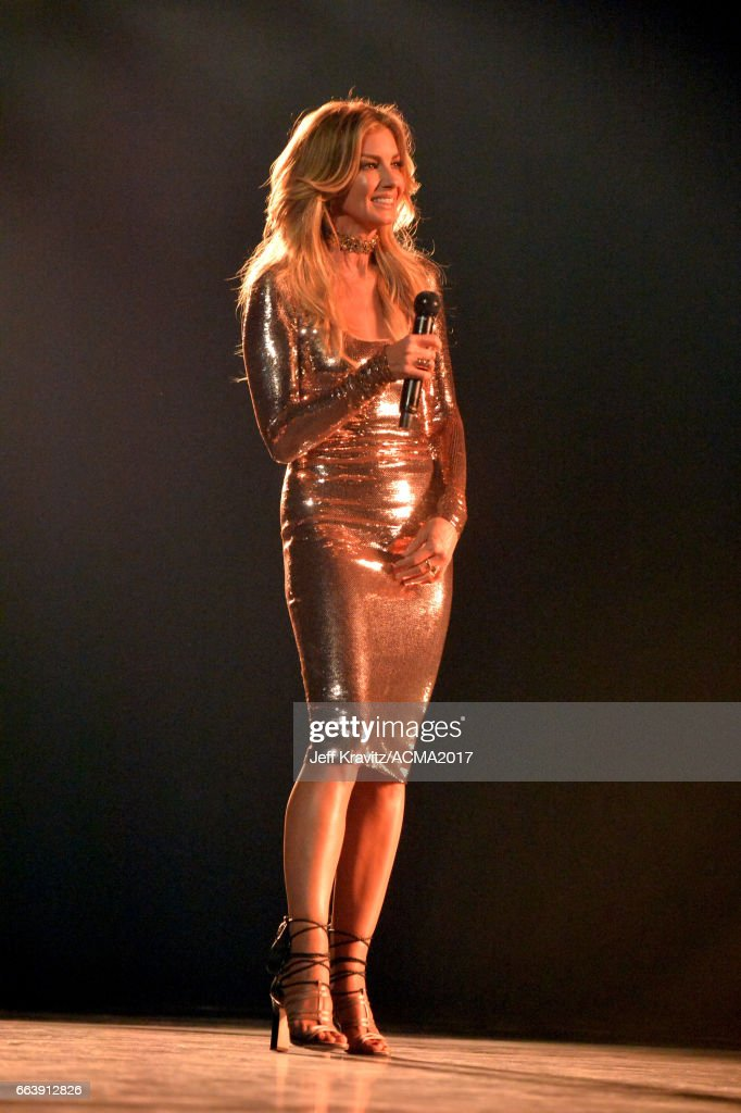 Singer Faith Hill performs onstage at the 52nd Academy Of Country Music Awards at T-Mobile Arena on April 2, 2017 in Las Vegas, Nevada.