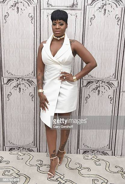 Singer Fantasia attends AOL Build Presents to discuss her new album 'The Definition Of' at AOL HQ on July 27 2016 in New York City