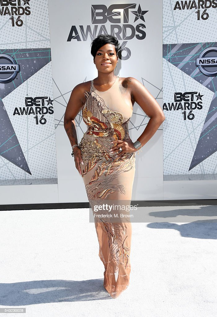 Singer Fantasia Barrino attends the 2016 BET Awards at the Microsoft Theater on June 26, 2016 in Los Angeles, California.