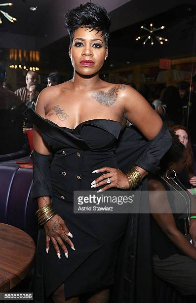 Singer Fantasia Barrino attends the release party for her new album 'The Definition Of' at club No 8 on July 26 2016 in New York City
