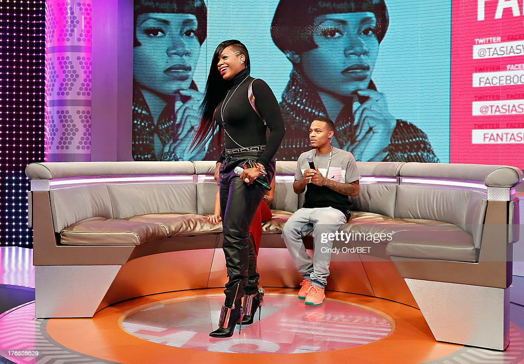 Singer Fantasia on stage during BET's '106 and Park' at BET Studios BET Studios on August 14, 2013 in New York City.
