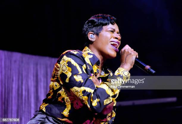 Singer Fantasia performs onstage at the 35th Anniversary Mother's Day Weekend Gospelfest 2017 at Prudential Center on May 13 2017 in Newark New Jersey