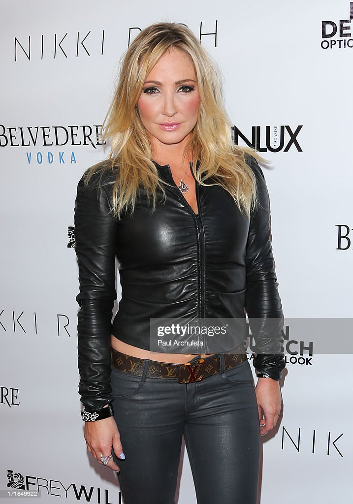 Singer / Fashion Designer Nikki Lund attends the Genlux Magazine summer issue release party at the Luxe Rodeo Drive Hotel on June 28, 2013 in Beverly Hills, California.