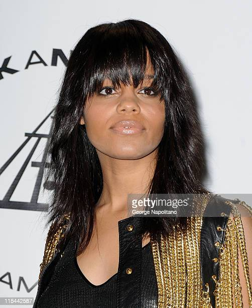 Singer Fefe Dobson attends the 25th Annual Rock And Roll Hall Of Fame Induction Ceremony at the Waldorf=Astoria on March 15 2010 in New York City