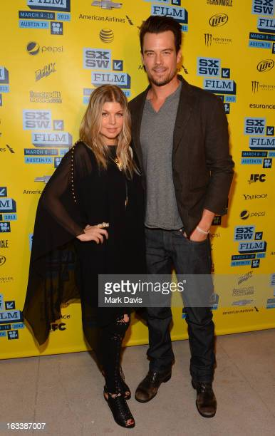 Singer Fergie and actor Josh Duhamel attend the 'Scenic Route' screening at the 2013 SXSW Music Film Interactive Festival held at the Topfer Theatre...