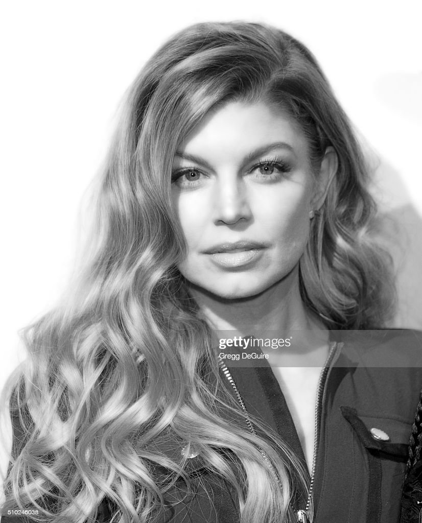 Singer Fergie arrives at The Creators Party Presented by Spotify, Cicada, Los Angeles at Cicada on February 13, 2016 in Los Angeles, California.