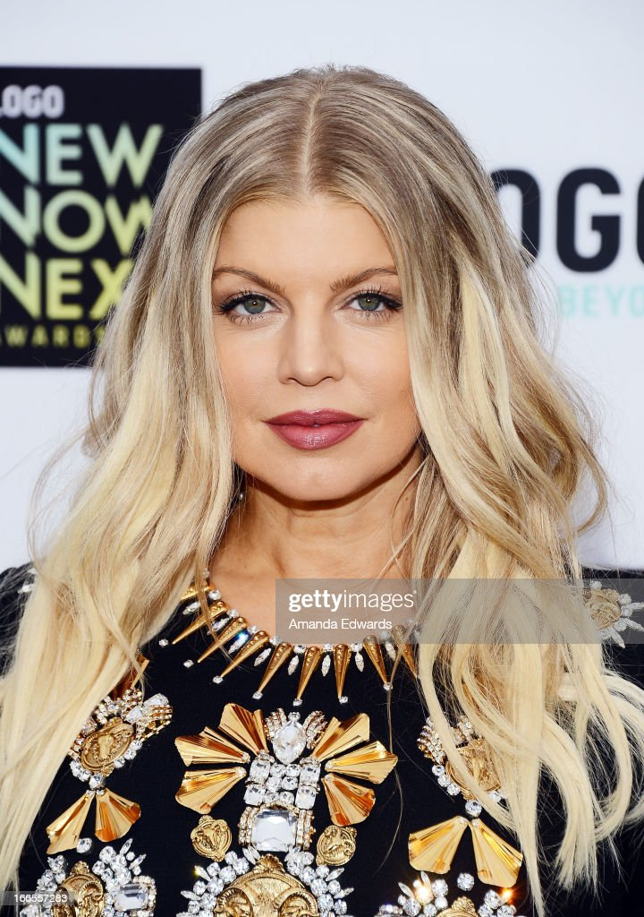 Singer Fergie arrives at the Logo NewNowNext Awards 2013 at The Fonda Theatre on April 13, 2013 in Los Angeles, California.