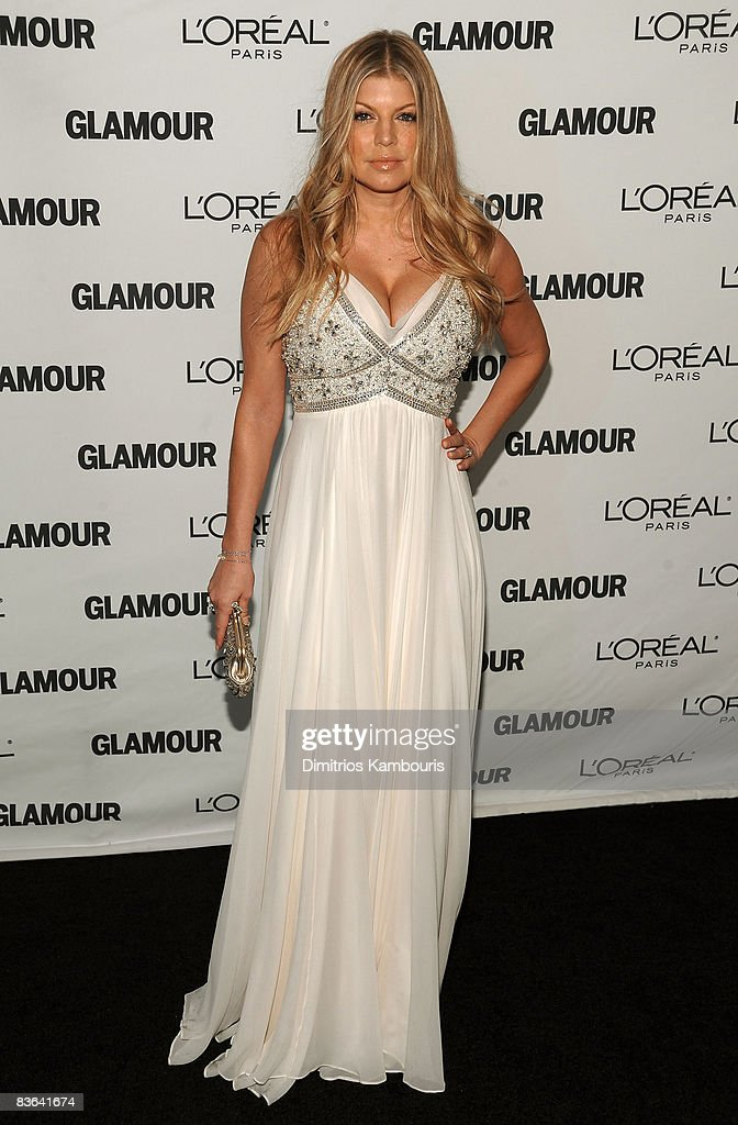 Singer Fergie attends the 2008 Glamour Women of the Year Awards at Carnegie Hall on November 10, 2008 in New York City.