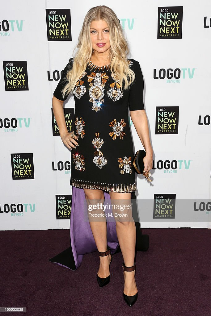 Singer Fergie attends the 2013 NewNowNext Awards at The Fonda Theatre on April 13 2013 in Los Angeles California