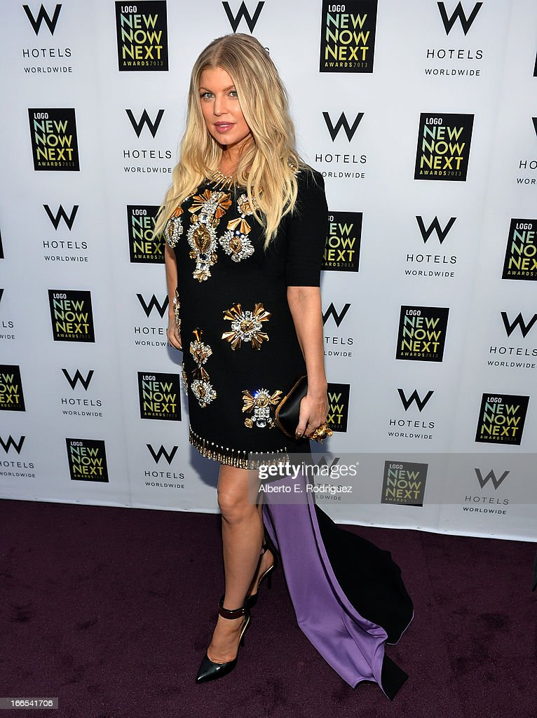 Singer Fergie attends the 2013 NewNowNext Awards at The Fonda Theatre on April 13, 2013 in Los Angeles, California.