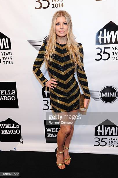 Singer Fergie attends The 2014 Emery Awards at Cipriani Wall Street on November 12 2014 in New York City