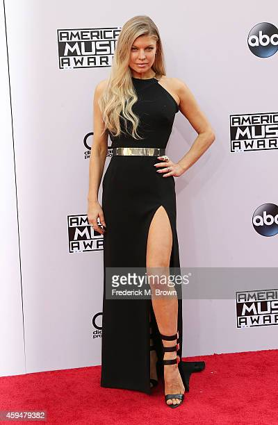 Singer Fergie attends the 42nd Annual American Music Awards at the Nokia Theatre LA Live on November 23 2014 in Los Angeles California