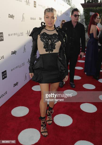 Singer Fergie attends the Daily Front Row's 3rd Annual Fashion Los Angeles Awards at Sunset Tower Hotel on April 2 2017 in West Hollywood California