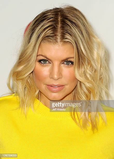 Singer Fergie of The Black Eyed Peas arrives at the iHeartRadio Music Festival held at the MGM Grand Garden Arena on September 23 2011 in Las Vegas...