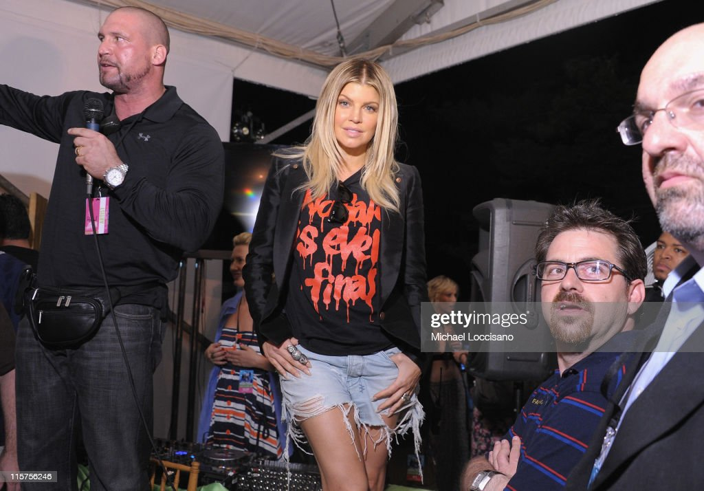 Singer Fergie of the Black Eyed Peas attends the Black Eyed Peas and Friends Concert for NYC to Benefit the Robin Hood Foundation at Central Park, Great Lawn on June 9, 2011 in New York City.