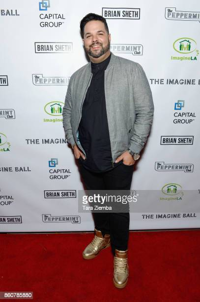 Singer Fernando Varela attends The Imagine Ball at The Peppermint Club on October 12 2017 in Los Angeles California