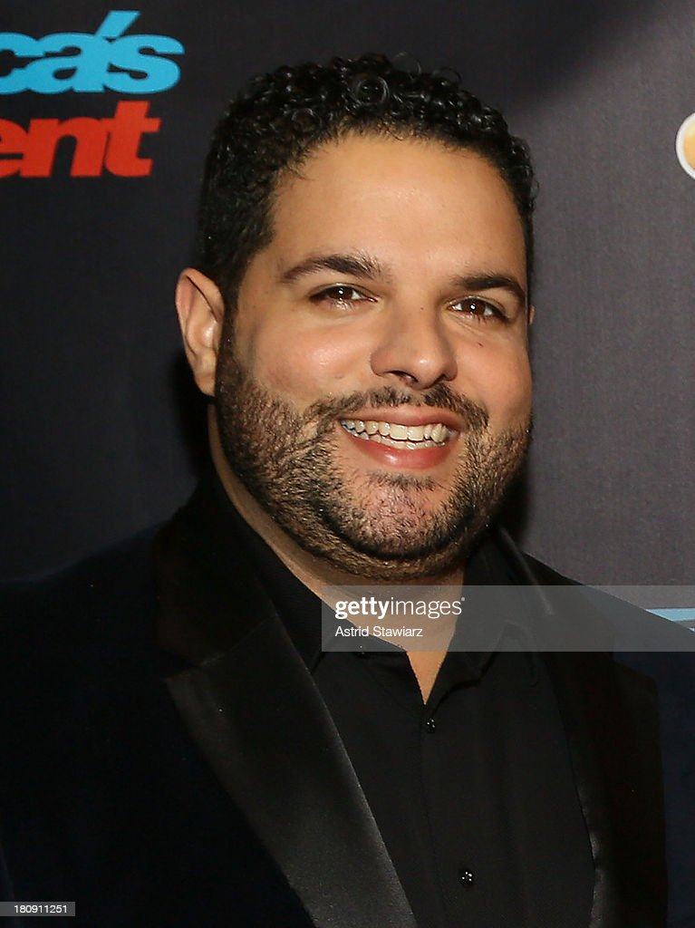 Singer Fernando Varela from the musical group Forte attends 'America's Got Talent' Season 8 Pre-Show Red Carpet Event at Radio City Music Hall on September 17, 2013 in New York City.