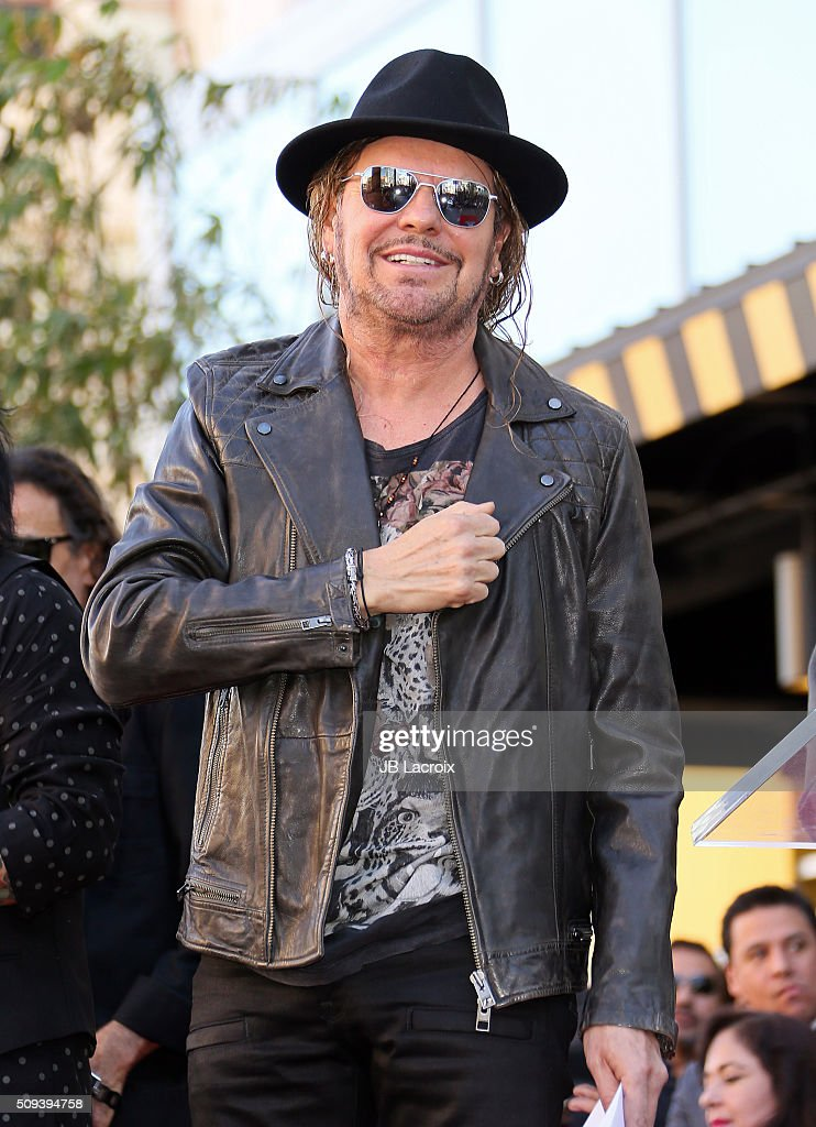 Singer Fher Olvera of the band Mana is honored with a star on the Hollywood Walk of Fame on February 10, 2016 in Hollywood, California.