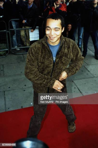 PHOTO 4/11/97 Singer Finley Quaye arrives at the Park Lane Hotel London for the 1997 Q Awards
