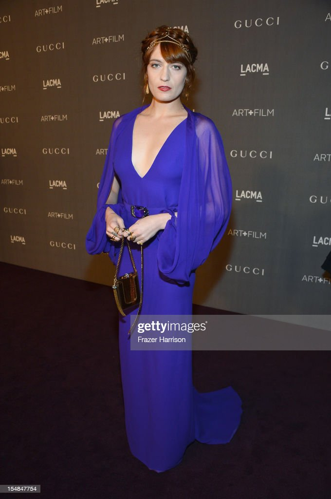 LACMA 2012 Art + Film Gala Honoring Ed Ruscha And Stanley Kubrick Presented By Gucci - Red Carpet