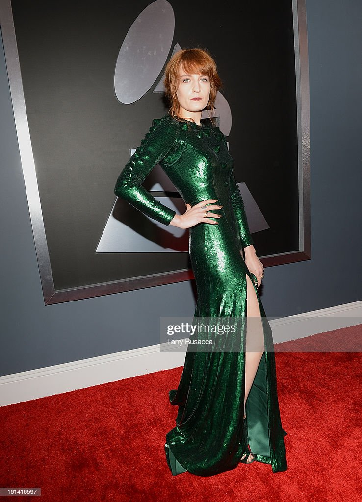 Singer Florence Welch of Florence + the Machine attends the 55th Annual GRAMMY Awards at STAPLES Center on February 10, 2013 in Los Angeles, California.