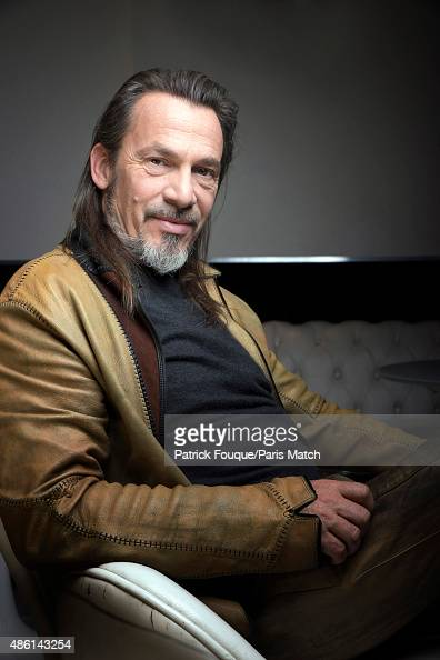 Singer Florent Pagny is photographed for Paris Match on November 5 2013 in Paris France