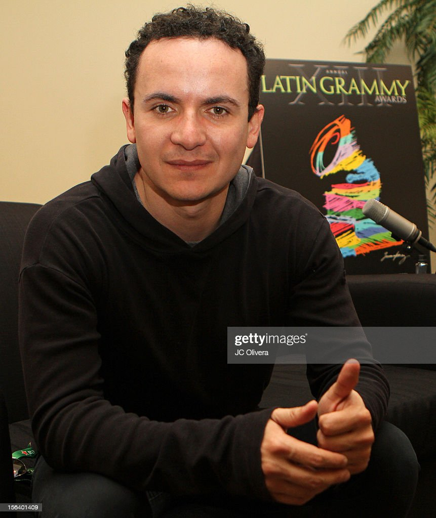 Singer Fonseca attends the 13th annual Latin GRAMMY Awards Univision Radio Remotes held at the Mandalay Bay Events Center on November 14, 2012 in Las Vegas, Nevada.