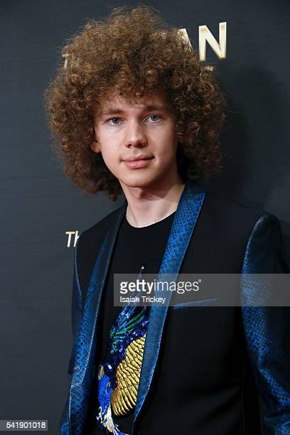 Singer Francesco Yates arrives at The 27th Annual SOCAN Awards Gala at the Sheraton Centre Hotel on June 20 2016 in Toronto Canada