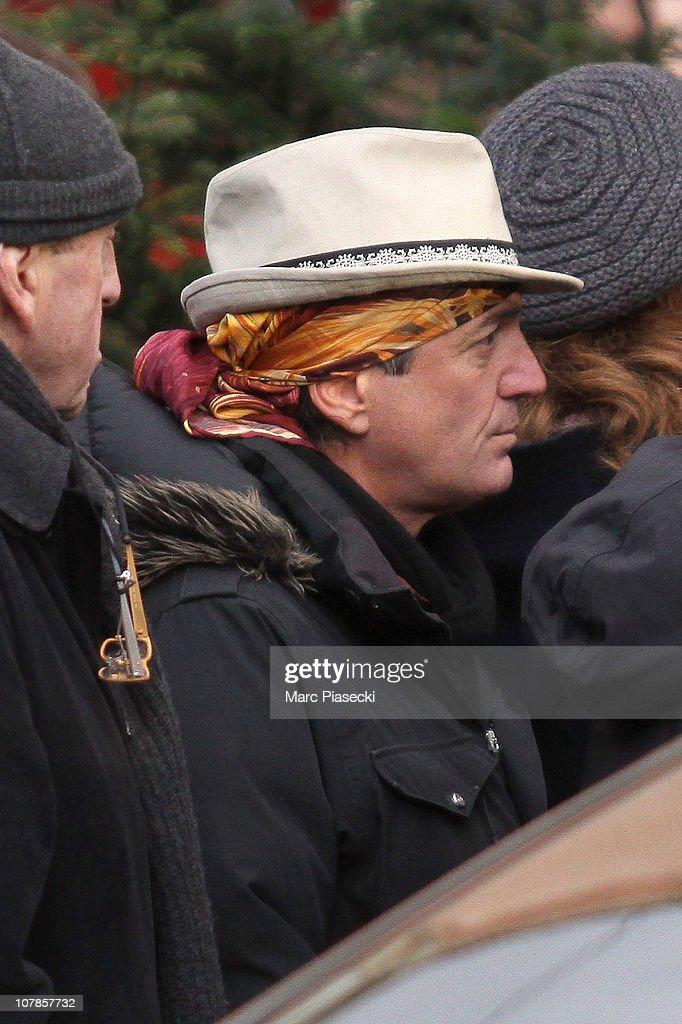Funeral Of Actor Bernard-Pierre Donnadieu