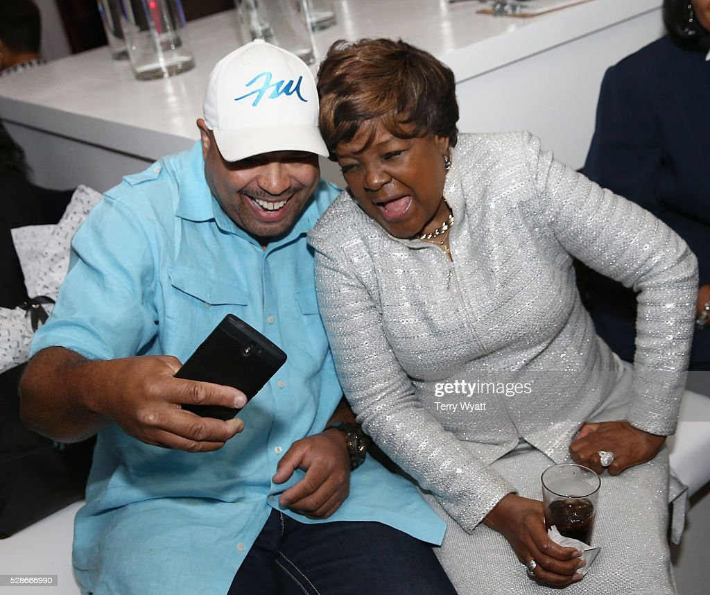 Singer Frank McComb (L) and recording artist Pastor <a gi-track='captionPersonalityLinkClicked' href=/galleries/search?phrase=Shirley+Caesar&family=editorial&specificpeople=828879 ng-click='$event.stopPropagation()'>Shirley Caesar</a> (R) attend NMAAM's Celebration Of Legends Red Carpet And Luncheon on May 6, 2016 in Nashville, Tennessee.