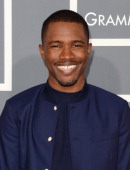 Singer Frank Ocean arrives at the 55th Annual GRAMMY Awards at Staples Center on February 10 2013 in Los Angeles California