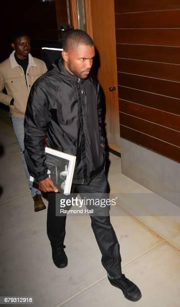 Singer Frank Ocean is seen walking in Soho on May 4 2017 in New York City
