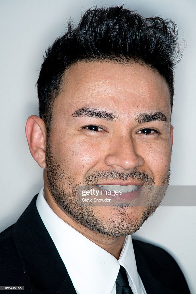 R&B singer <a gi-track='captionPersonalityLinkClicked' href=/galleries/search?phrase=Frankie+J&family=editorial&specificpeople=213463 ng-click='$event.stopPropagation()'>Frankie J</a> poses backstage before his performance at Route 66 Casino's Legends Theater on FEBRUARY 23, 2013 in Albuquerque, New Mexico.