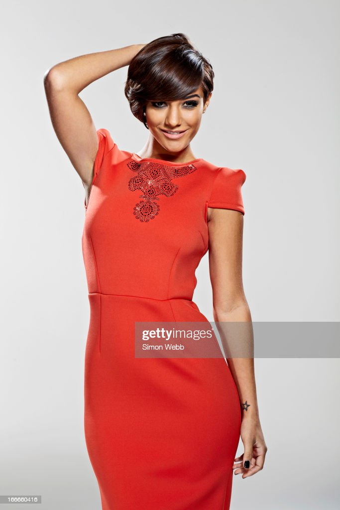 Singer Frankie Sandford of girl band <a gi-track='captionPersonalityLinkClicked' href=/galleries/search?phrase=The+Saturdays&family=editorial&specificpeople=5522110 ng-click='$event.stopPropagation()'>The Saturdays</a> is photographed for We Love Pop on November 22, 2012 in London, England.