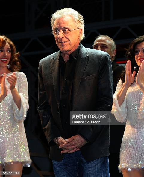 Singer Frankie Vali attends the Opening Night of 'Jersey Boys' at the Hollywood Pantages Theatre on October 5 2014 in Hollywood California