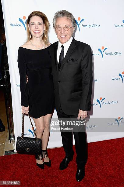 Singer Frankie Valli and guest attend the Venice Family Clinic Silver Circle Gala 2016 honoring Brett Ratner and Bill Flumenbaum at The Beverly...