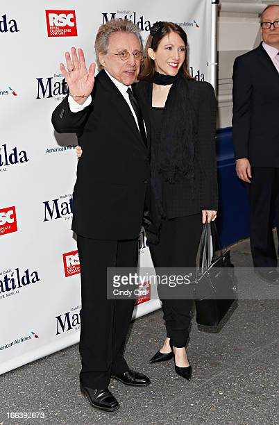 Singer Frankie Valli attends the 'Matlida The Musical' Broadway Opening Night at Shubert Theatre on April 11 2013 in New York City