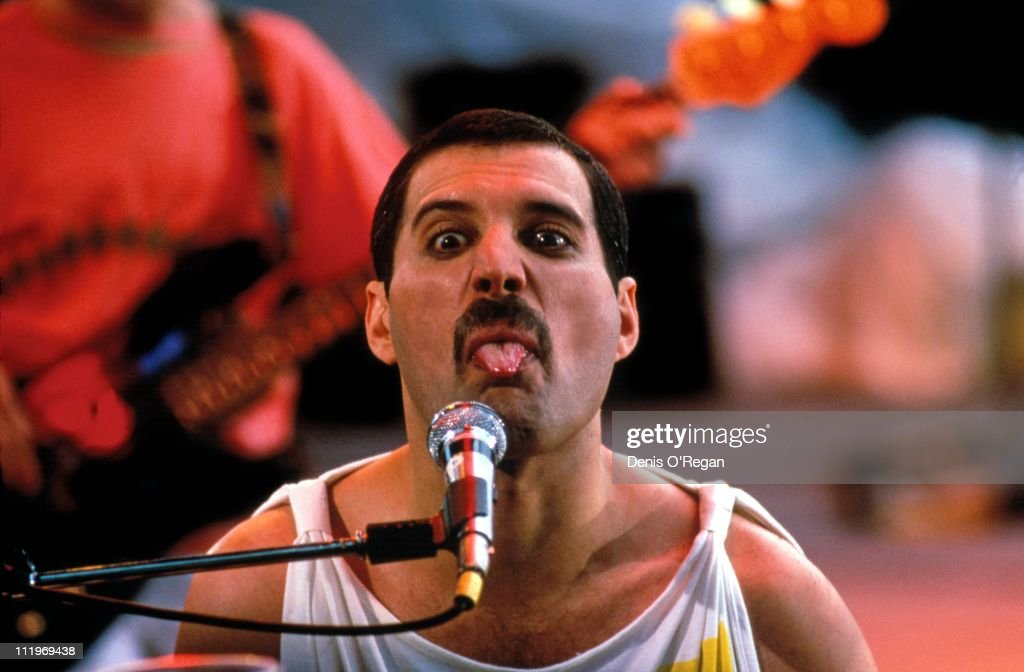 Freddie Mercury...