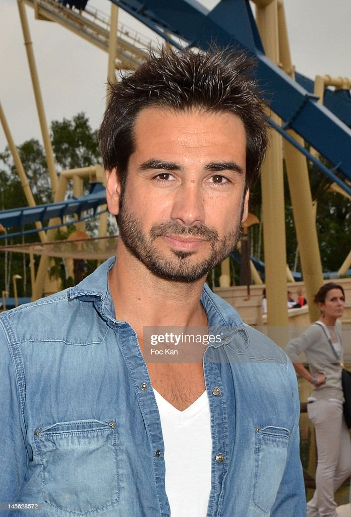Singer Frederic Lerner attends the 'Oziriz' New Game Launch at the Parc Asterix on June 2, 2012 in Paris, France.