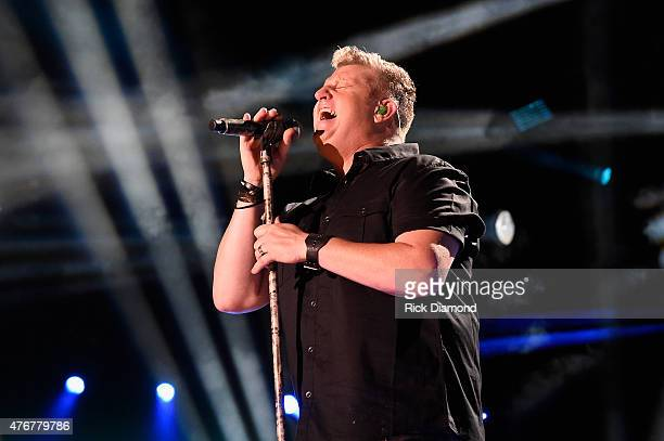 Singer Gary LeVox of Rascal Flatts performs onstage during the 2015 CMA Festival on June 11 2015 in Nashville Tennessee