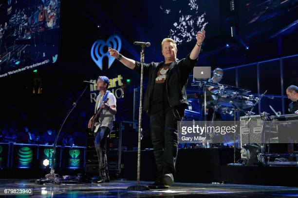 Singer Gary LeVox of Rascall Flatts performs onstage during the 2017 iHeartCountry Festival A Music Experience by ATT at The Frank Erwin Center on...