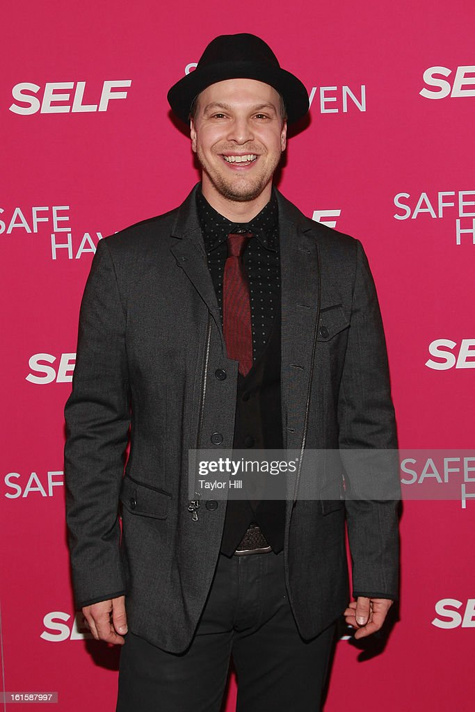 Singer Gavin DeGraw attends a New York screening of 'Safe Haven' at Landmark Sunshine Cinema on February 11, 2013 in New York City.
