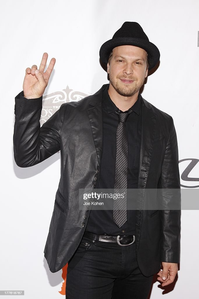 Singer Gavin DeGraw attends LEXUS Live On Grand At The 3rd Annual Los Angeles Food & Wine Festival on August 24, 2013 in Los Angeles, California.