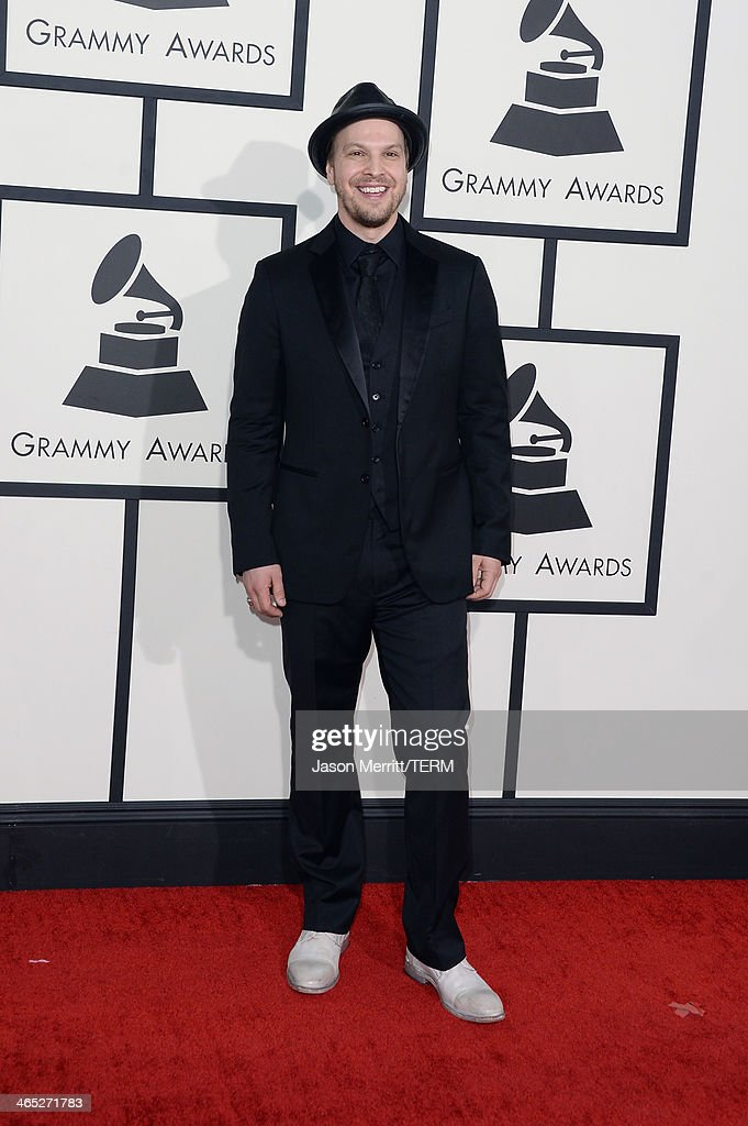Singer Gavin DeGraw attends the 56th GRAMMY Awards at Staples Center on January 26, 2014 in Los Angeles, California.